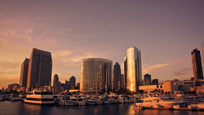 San diego cityscapes wallpaper