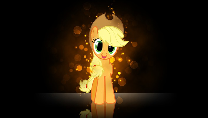 My little pony applejack pony: friendship is magic wallpaper