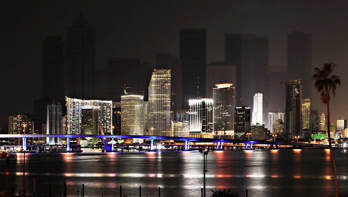 Miami architecture cityscapes skyscrapers towns wallpaper