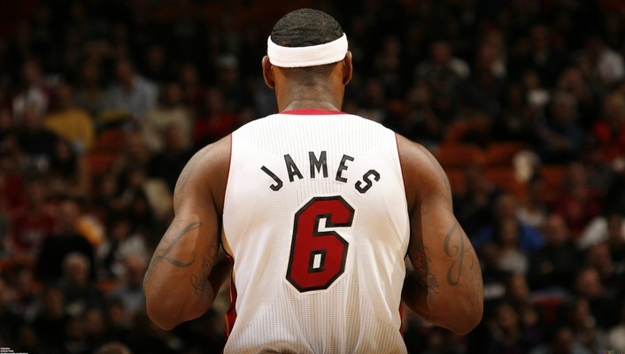 Lebron james miami heat nba wallpaper