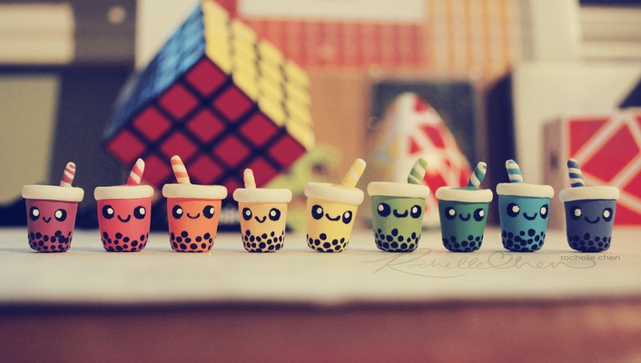 Cups macro rochelle chen wallpaper