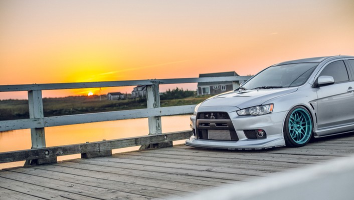 Cars mitsubishi lancer evo x wallpaper