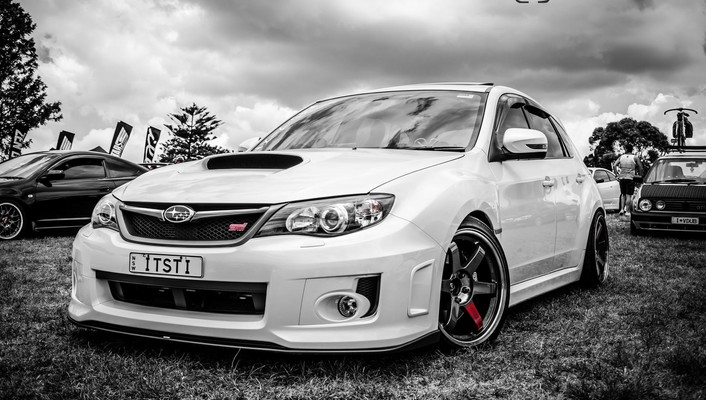 Cars subaru impreza wrx sti wallpaper