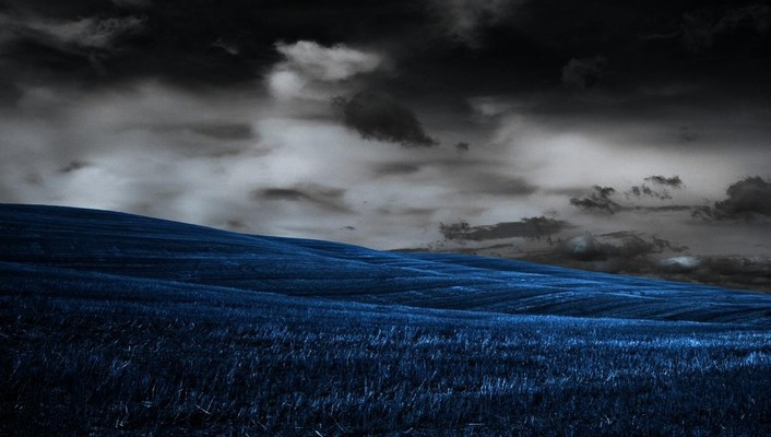 Landscape photomanipulation wallpaper
