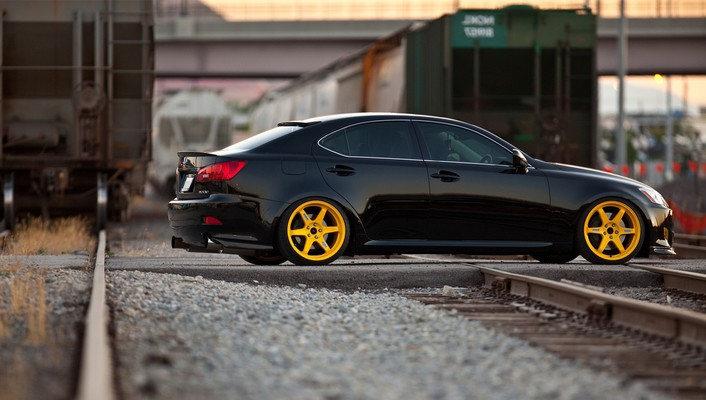 Hella flush lexus black cars stance wallpaper