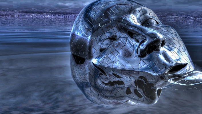Water wet surreal hdr photography 3d wallpaper