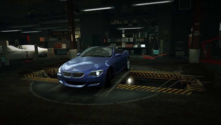 For speed convertible bmw m6 garage nfs wallpaper