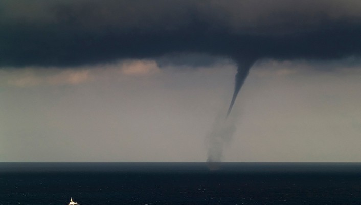 Ocean nature ships tornadoes national geographic wallpaper
