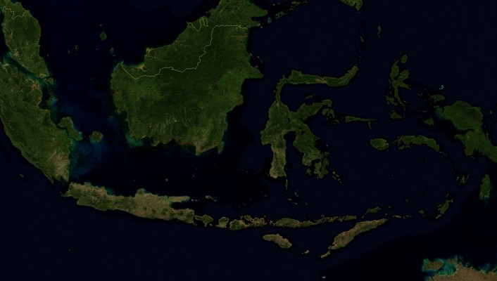 Indonesia satellite wallpaper