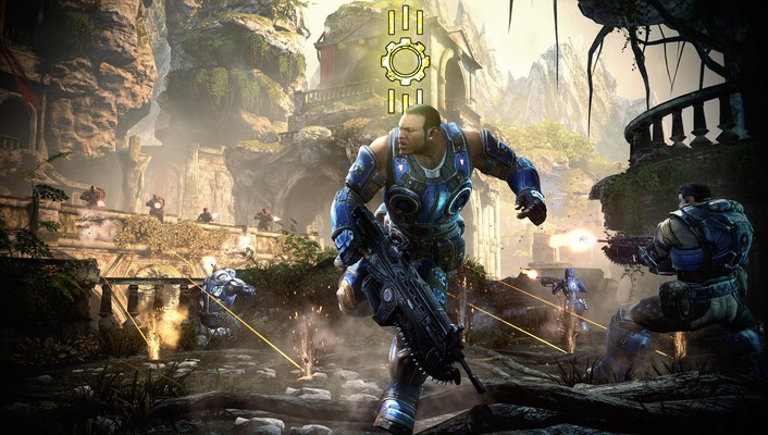 Video games gears of war war: judgment wallpaper
