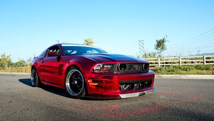Cars ford roads vehicles mustang wallpaper