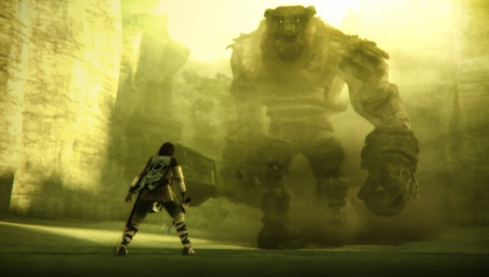 Of the playstation 2 screens game colossi wallpaper