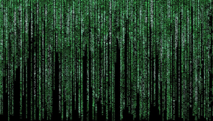 Text fake matrix wallpaper