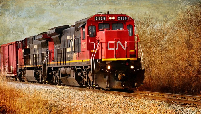 Train locomotive wallpaper