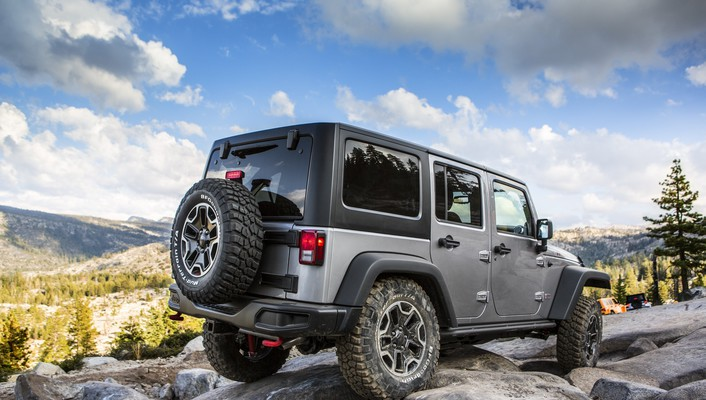 Clouds unlimited jeep wrangler rubicon 10th anniversary 2013 wallpaper