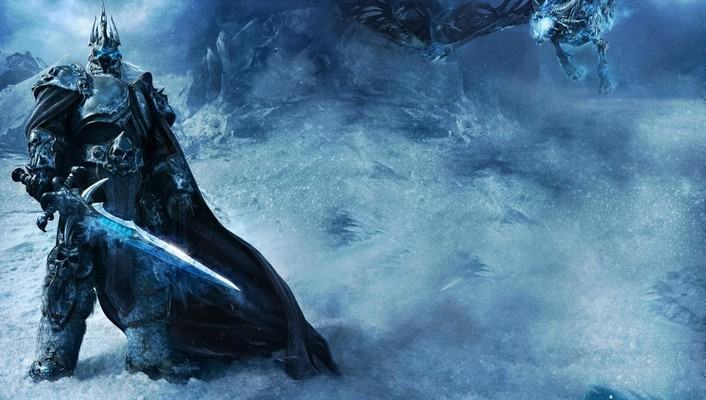Video games world of warcraft lich king wallpaper