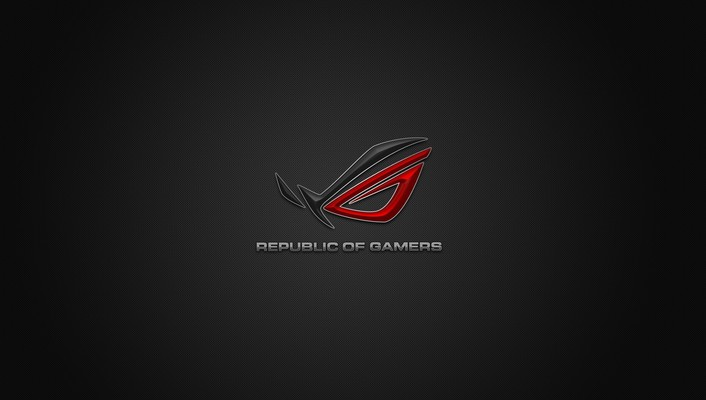 Asus logos republic of gamers windows logo wallpaper