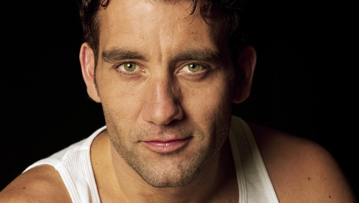 Clive owen actors black background men short hair wallpaper