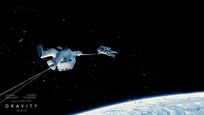 2013 gravity movie wallpaper