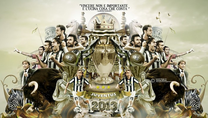 Juventus fc celebration champions football teams wallpaper