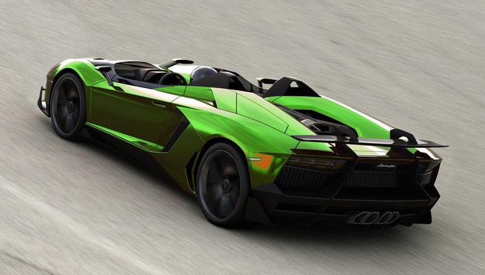 Lamborghini aventador jota cars green wallpaper