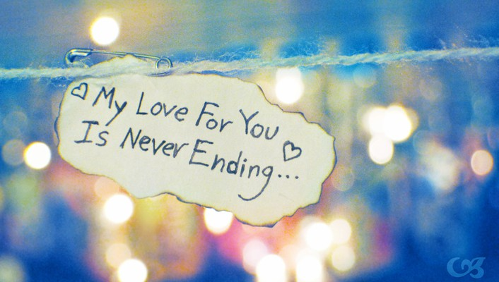 Never ending love wallpaper