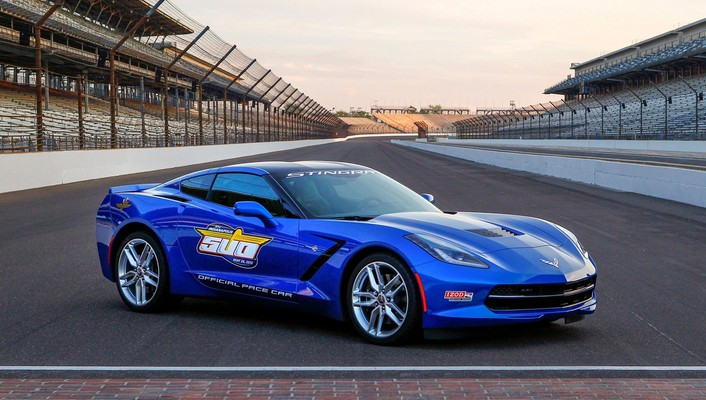 Corvette indy static stingray 2014 pace car wallpaper