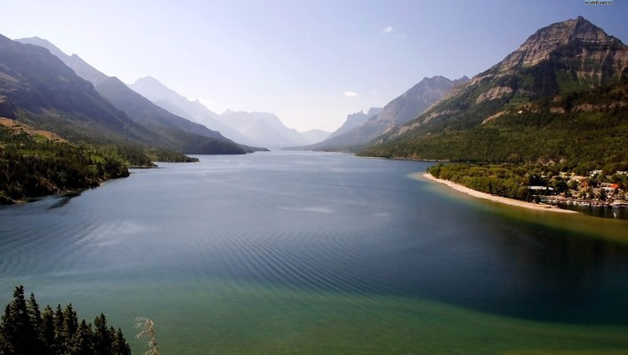 Waterton lakes national park wallpaper