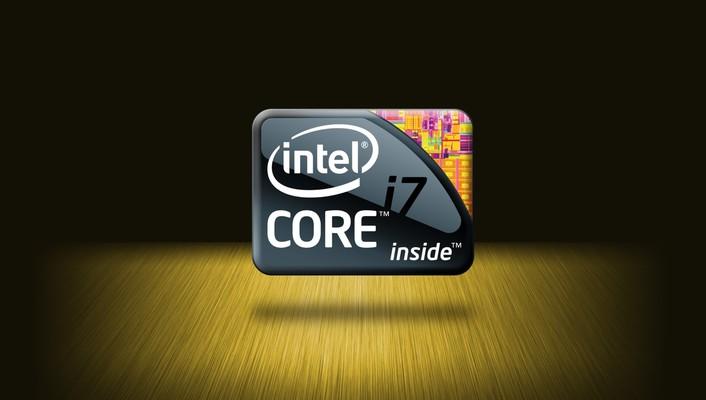 Intel logos cpu wallpaper