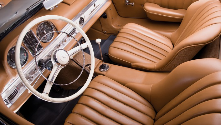 Mercedes-benz 300 sl cars interior wallpaper