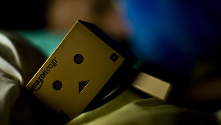 Danbo sleep wallpaper