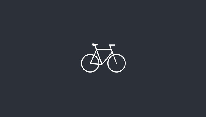 Bicycles minimalistic wallpaper