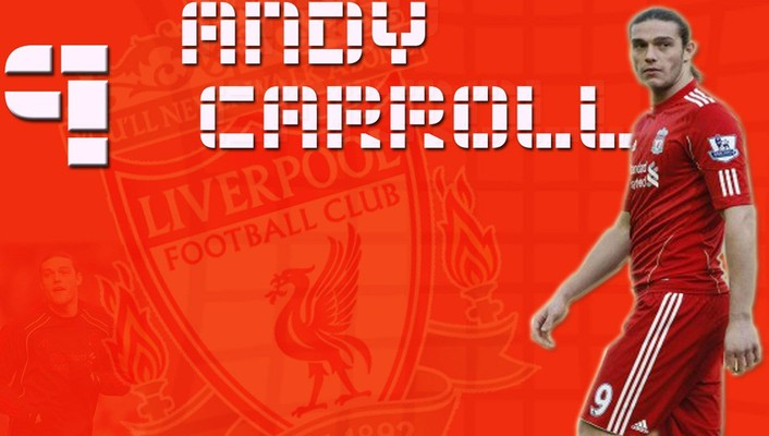 Soccer liverpool fc athletes andy carroll football player wallpaper