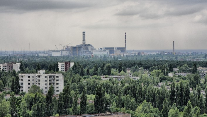Chernobyl pripyat ukraine architecture cityscapes wallpaper