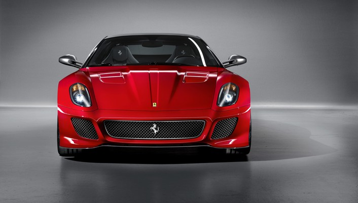 Ferrari 599 gto cars front wallpaper