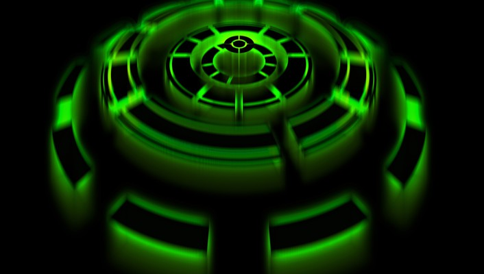 Chronoscope green wallpaper