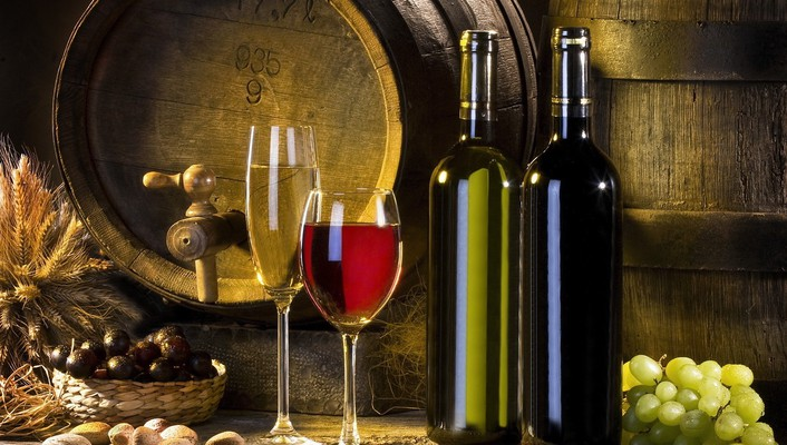 Enjoy a glass of wine wallpaper