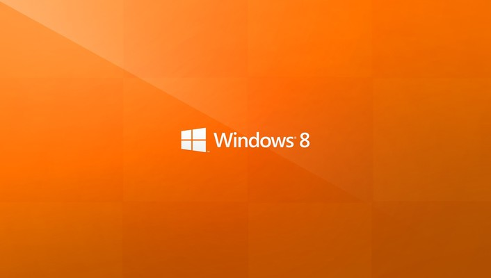 Orange operating systems windows 8 microsoft logo wallpaper