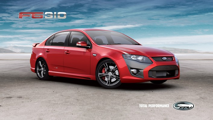 Car f6 310 fpv ford australia cars wallpaper