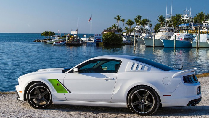 Ford mustang 2014 roush side stage 3 wallpaper