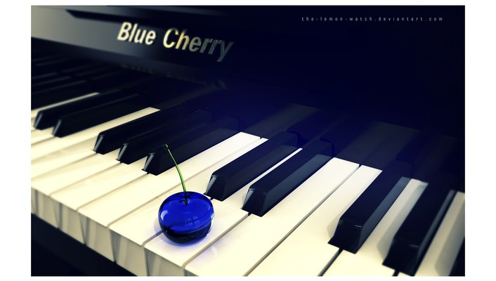 Piano blues watch wallpaper