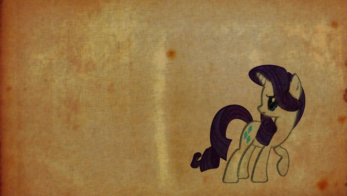Paper old my little pony rarity wallpaper