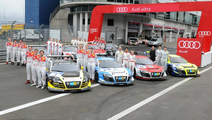 Cars audi races wallpaper