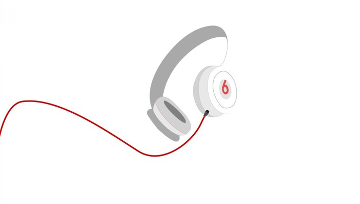 Beats by drdre abstract minimalistic music simple wallpaper