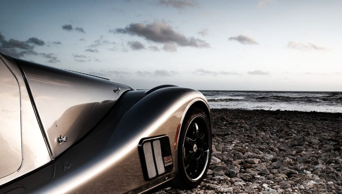 Beach sports cars wallpaper