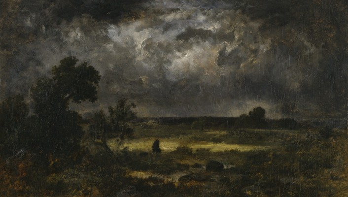 Paintings landscapes dark storm artwork wallpaper