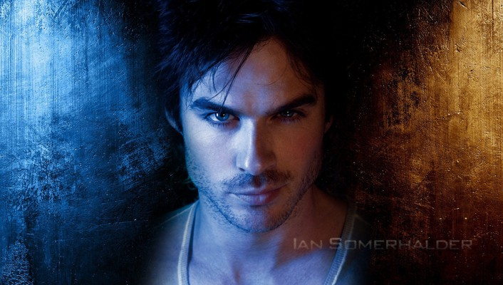 Brunettes blue eyes men actors ian somerhalder stubble wallpaper