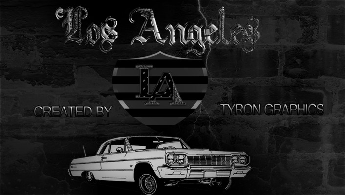 Los angeles chevy impala lowrider wallpaper