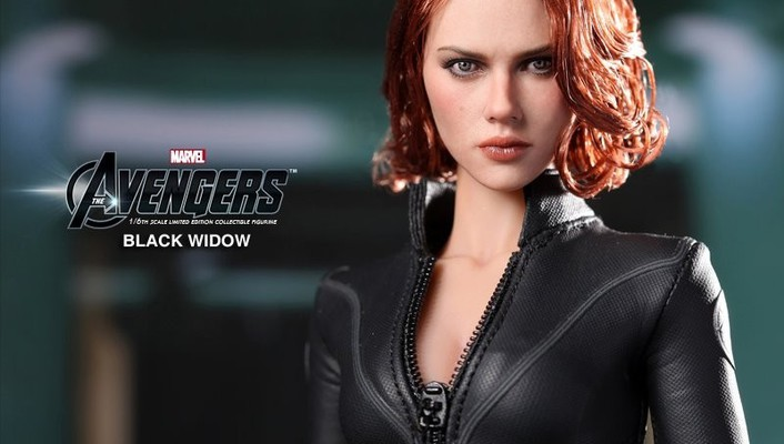Black widow the avengers figurines action figures (movie) wallpaper