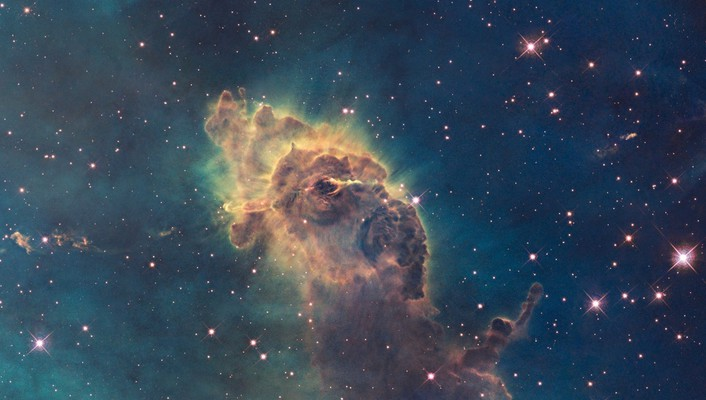 Outer space nebulae wonderful wallpaper